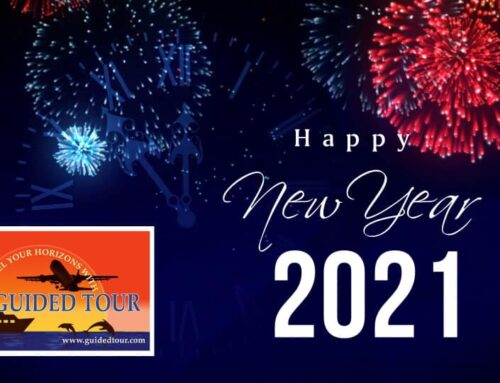 2021 is here! Happy New Year to all our travelers and staff!